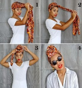 Knotted Front Head Wrap