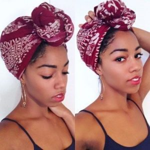 Knotted Head Wrap