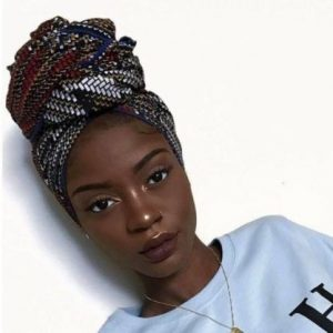Patterned High Head Wrap