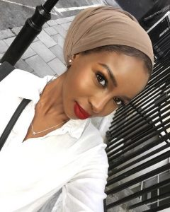 Tan Head Wrap