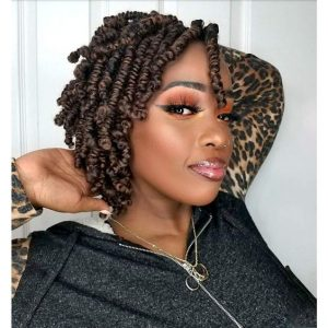 Bob Length Spring Twists