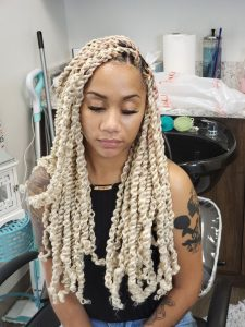 Blonde Passion Twists