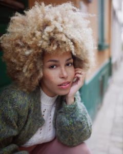 Platinum Blonde Fro