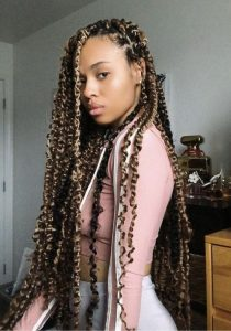 extra long passion twist crochet braids