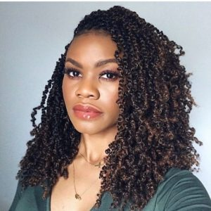 passion twist crochet with volume