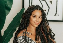 middle part passion twist crochet