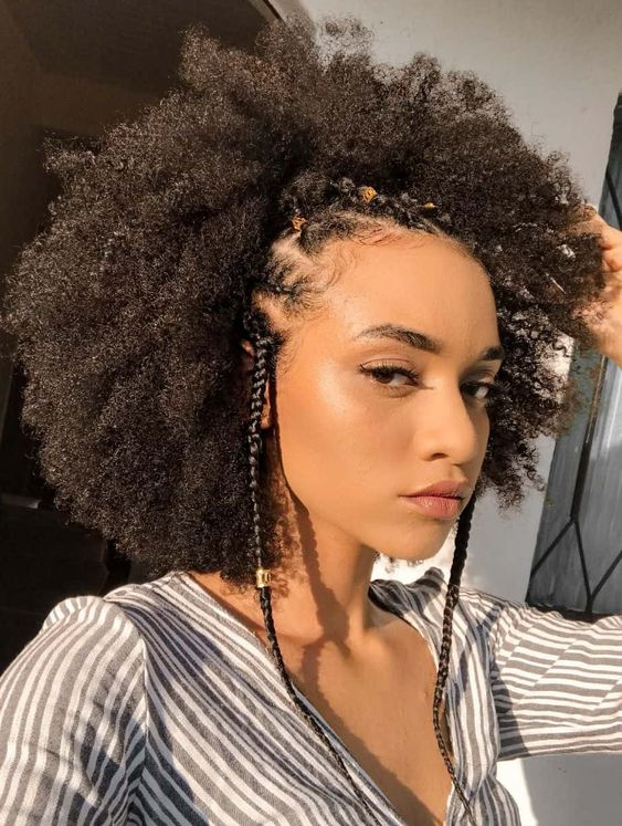 natural hair care with moisturizing oil