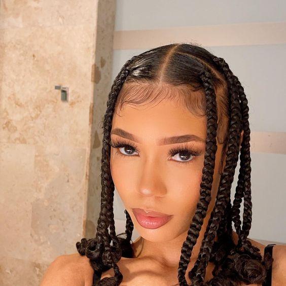 natural hair braids