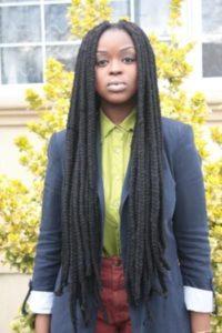super long yarn braids