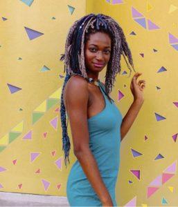 color yarn braids