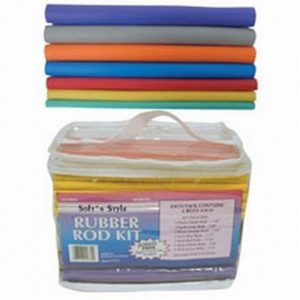 Soft 'N Style Rubber Rod Set