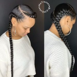 quasi halo feed in braids