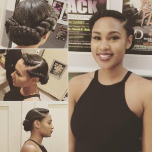 halo feed in braids