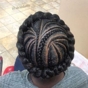 halo feed in braid