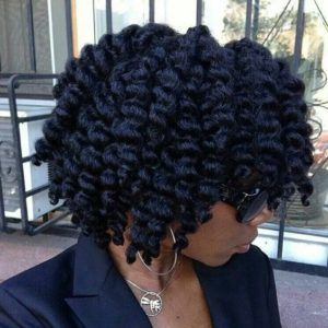 coarse hair style