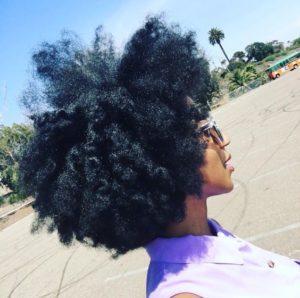 thick coarse hair