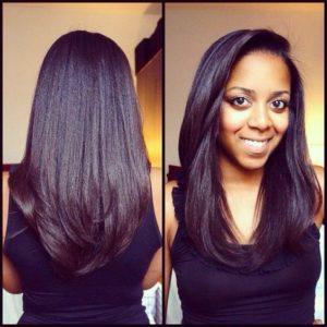 maintaining relaxed hair