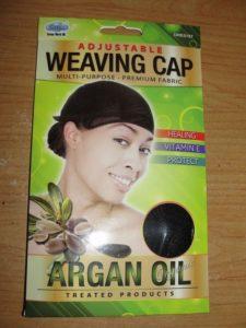 mesh weave cap
