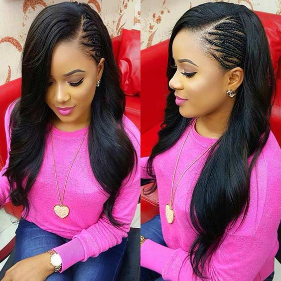 25 Side Part Sew In Styles And How To