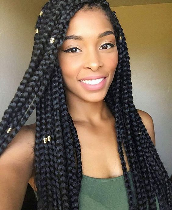 Box Braids Guide How Many Packs Of Hair For Box Braids