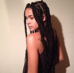dookie braids rectangular parts