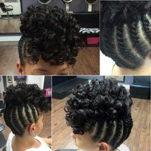 flat twists and curls