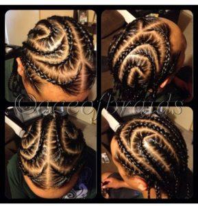 sleek iverson braids