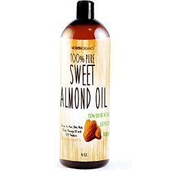 sweet almond oil natural hair