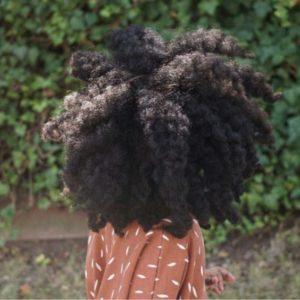 Braid Out On Big Hair