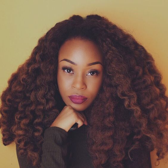 Braid Out On Stretched Hair