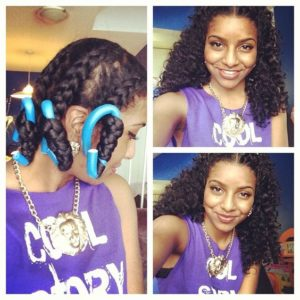 Chunky Braid Out