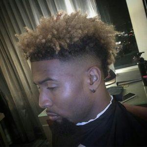 Odell Beckham Curly Cut