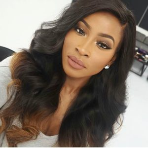 Ombre Remy Sew In With Loose Waves