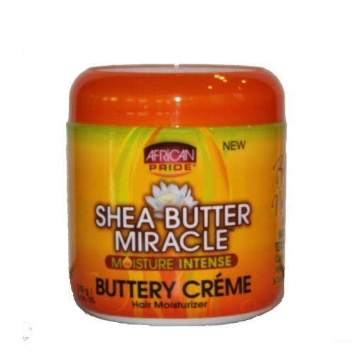 African Pride Shea Butter Miracle Buttery Creme