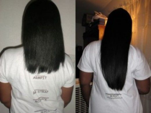 coconut oil for hair growth before and after