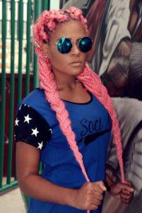 Candy Pink Box Braids