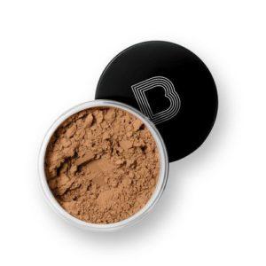 black opal dark true color loose powder