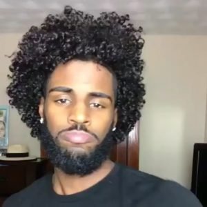 Beard And Curls