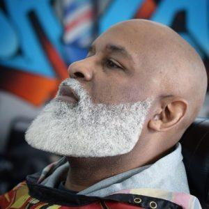 Grey Beard And Bald Head