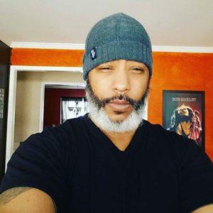 Ombre Grey Beard