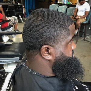 Waves And Shaggy Beard