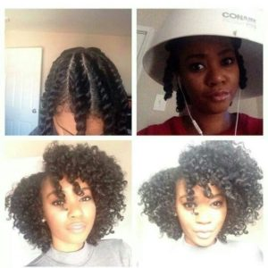 how to do a twist out