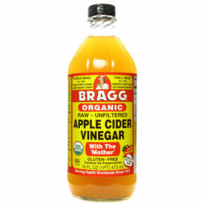 Rinse With Apple Cider Vinegar
