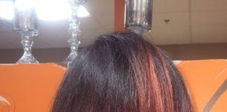 Silk Wrap on natural hair