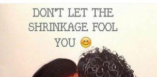 shrinkage hair guide