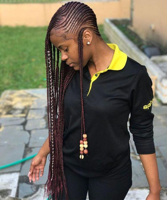 30 Lemonade Braids And Fulani Braids Hairstyles