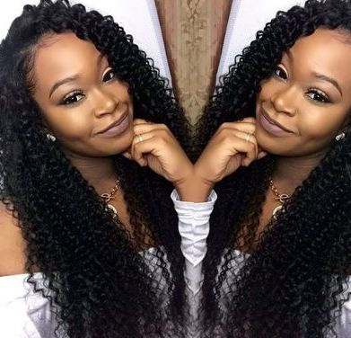 Quick Weave Curly Hair Styles