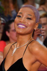 keke palmer purple hair