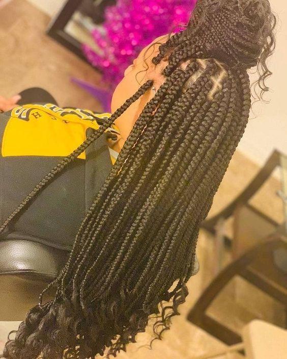 40 Small Box Braids Hairstyles