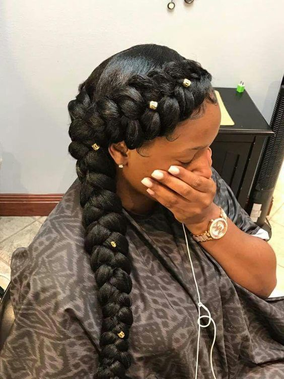 35 Braid Hairstyles With Weave